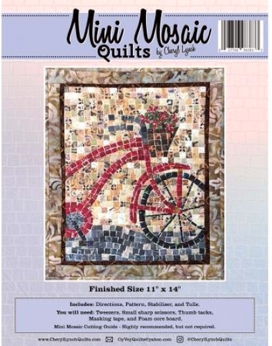Mini Mosaic Bicycle Quilt Pattern 027706983833 Quilt In A Day