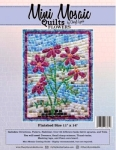 Mini Mosaic - Flowers Quilt Pattern