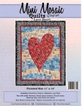 Mini Mosaic - Love Heart Quilt Pattern
