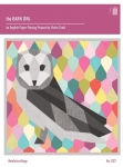 The Barn Owl Quilt Pattern by Violet Craft