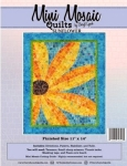Mini Mosaic - Sunflower Quilt Pattern