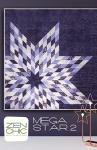 Mega Star 2 Quilt Pattern by Brigitte Heitland Zen Chic