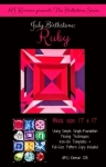 July Birthstone Ruby - Birthstone Series
