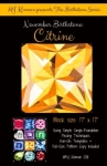 November Birthstone Citrine - Birthstone Series