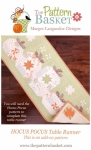 Hocus Pocus Table Runner Add-On Pattern by The Pattern Basket