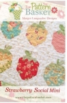 Strawberry Social Mini Quilt Pattern by The Pattern Basket