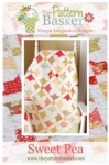 Sweet Pea Quilt Pattern by The Pattern Basket