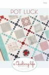 Pot Luck Quilt Pattern by A Quilting Life Designs