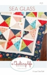 Sea Glass Quilt Pattern by A Quilting Life Designs