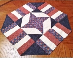 Cut Loose Press - Easy Patriotic Table Topper Pattern
