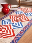 Cut Loose Press - Glory In the Cabin Table Runner Pattern