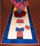 Cut Loose Press - Patriotic Runner Pattern