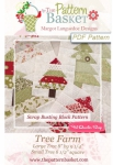 Tree Farm Block Pattern by The Pattern Basket