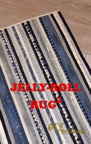 Jelly Roll Rug 2 - Squared  Pattern by RJ Designs/Roma Lambson