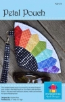 Petal Pouch Pattern by Poorhouse Quilt Designs
