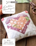Lella Boutique - Mini Open Heart Pin Cushion Pattern
