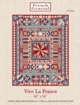 Vive La France Quilt Pattern by French General