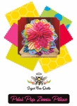 Petal Pop Zinnia Pillow Pattern by Sugar Bee Quilts