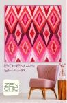 Bohemian Spark Quilt Pattern by Brigitte Heitland Zen Chic