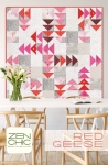 Red Geese Quilt Pattern by Brigitte Heitland Zen Chic