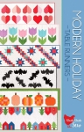 Modern Holiday Table Runners Pattern by Cluck Cluck Sew