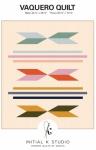 Vaquero Quilt Pattern by Initial K Studio