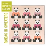 Pandas in Sweaters Quilt Pattern by Elizabeth Hartman