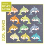 Social Sharks Quilt Pattern by Elizabeth Hartman