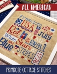 All American Cross Stitch Pattern by Lindsey Weight / Primrose Cottage