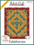 Kaleidoscope Quilt Pattern by Fabric Cafe