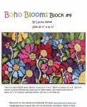 Boho Blooms Block #4 Collage Pattern by Laura Heine