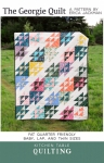 The Georgie Quilt Pattern by Kitchen Table Quilting