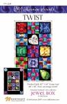 Jewel Box - Twist Quilt Pattern by MJ Kinman