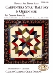 Calico Carriage Quilt Designs: Carpenters Star and Bali Sky