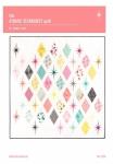 The Atomic Starburst Quilt Pattern by Violet Craft
