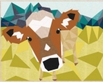 Pre- Order - The Cow Abstractions Quilt Pattern by Violet Craft
