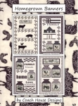 Homegrown Banners Pattern by Coach House Designs