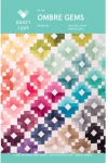 Ombre Gems Quilt Pattern by Quilty Love