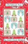 Christmas Fun Quilt Pattern by Barbara Cherniwchan - Coach House Designs