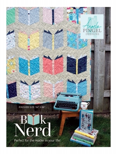Angela Pingel Designs: Book Nerd Quilt Pattern