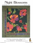 Night Blossoms Quilt Pattern by Laura Heine