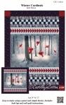 Winter Cardinals Quilt Panel Pattern by Castilleja Cotton