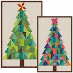 Gandiegow Christmas Tree Quilt Pattern by Patience Griffin