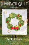 The Wreath Quilt Sampler Pattern by Krista Moser