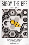 Biggy The Bee Baby Quilt Pattern by Krista Moser