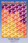 Entangled Sky Quilt Pattern by Krista Moser