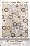 Honeycomb Hexagon Quilt Pattern by Krista Moser