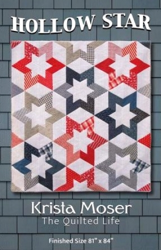 Hollow Star Quilt Pattern by Krista Moser 706836733661