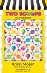 Two Scoops Quilt Pattern by Krista Moser