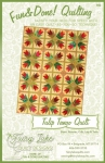 Fun & Done - Tulip Tango Quilt Pattern by Fairy Lake Quilt Design